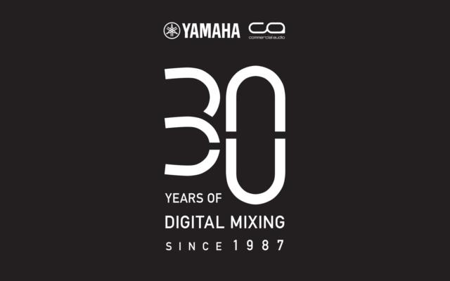 yamaha pro audio 30 years