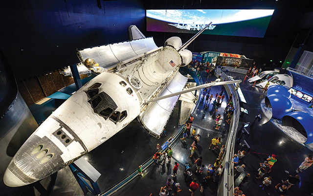 The Hall of Fame's first exhibition in its new location, Heroes & Legends, offers a healthy dose of inspiration drawn from the exploits of the first human journeys into space.