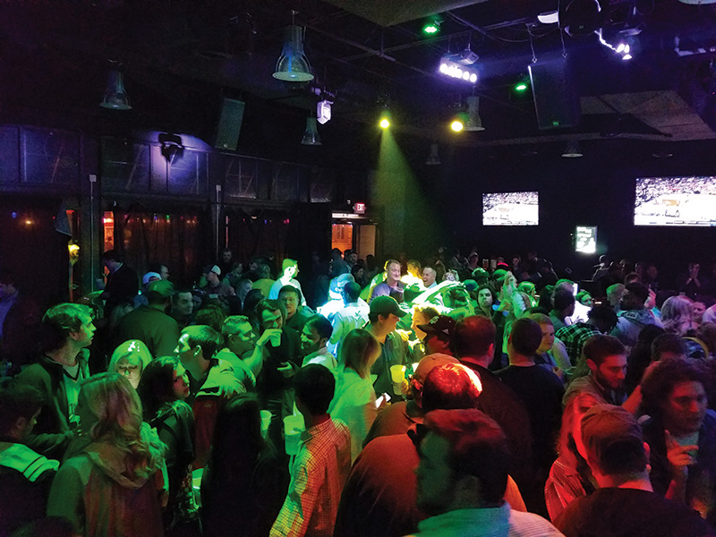 Tin Roof's AVL elements, taken together and shown in action, combine to create a successful environment for patrons, and a competitive edge for the owners.