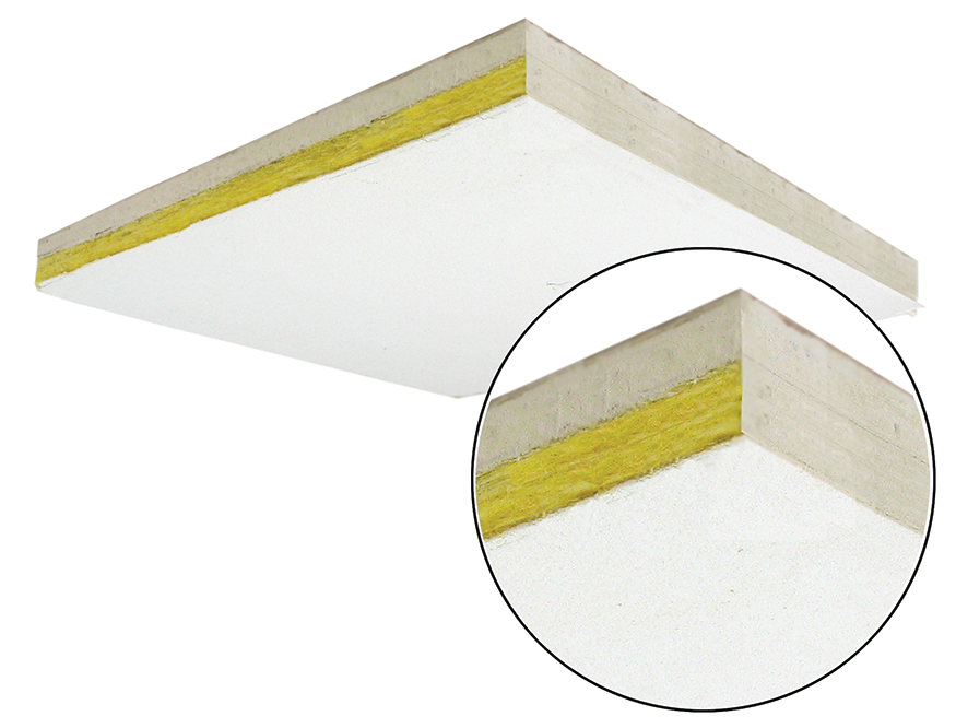 ThunderTile™ Acoustic T-Bar Ceiling Tile