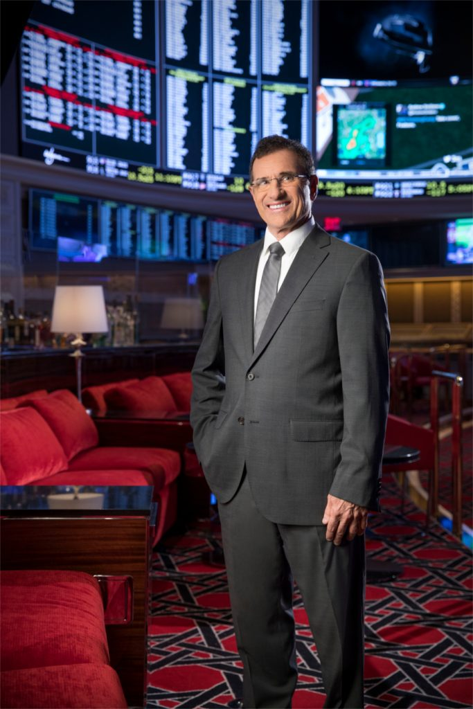 Johnny Avello, Executive Director of Race & Sports Book Operations at the Wynn