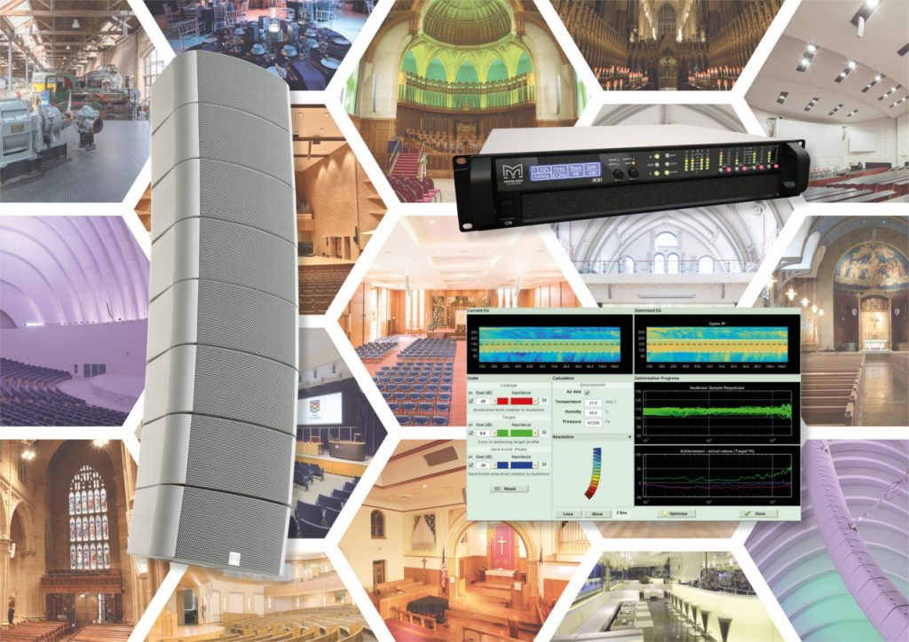 Martin Audio's O-Line with iKON Amp and DISPLAY Software