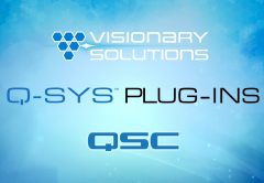 Visionary Solutions' Q-SYS Plugins