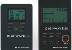 Williams Sound's Digi-Wave DLT 300 Digital Transceiver with Bilingual Mode and Relay Mode