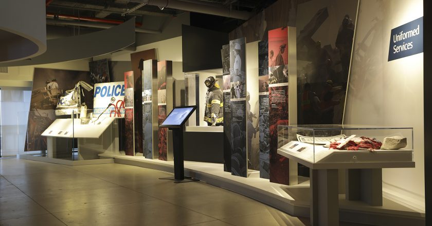 The 9/11 Tribute Museum's six interactive kiosks enhance the visitor experience, allowing visitors to choose and control the playback of selected content.