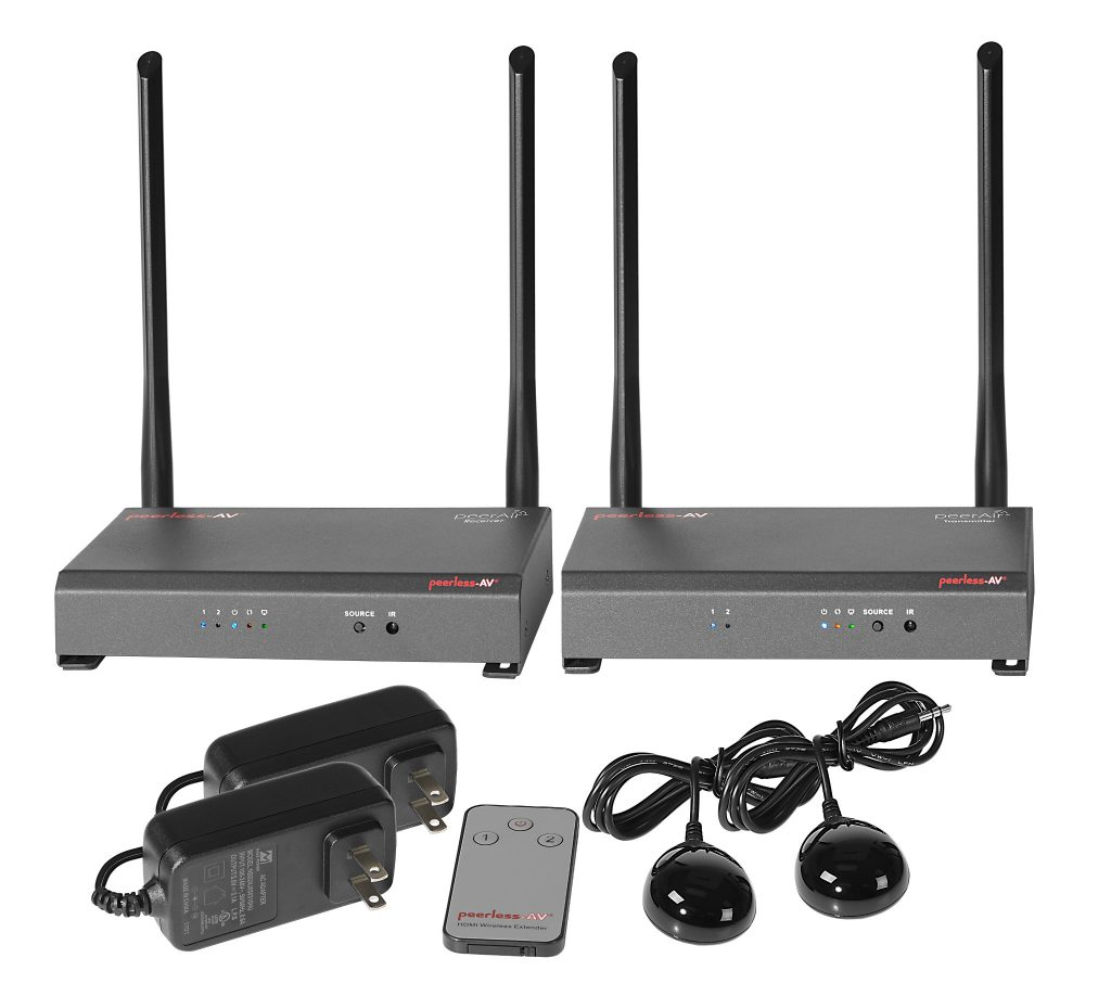 HDS-WHDI100 PeerAir Wireless System Group Shot