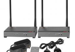 HDS-WHDI100 PeerAir Wireless System Group Shot