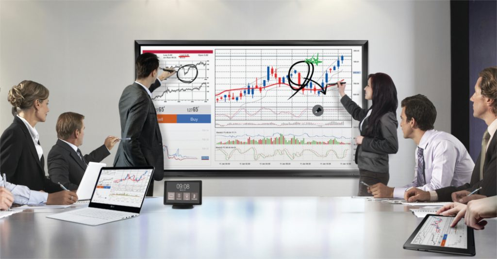 """LG's new advanced IPS Interactive Digital Boards (IDBs)—the 86"""" 86TR3D and the 75"""" 75TC3D 4K ultra HD models—deliver vivid images, text and video combined with reliable touch performance."""