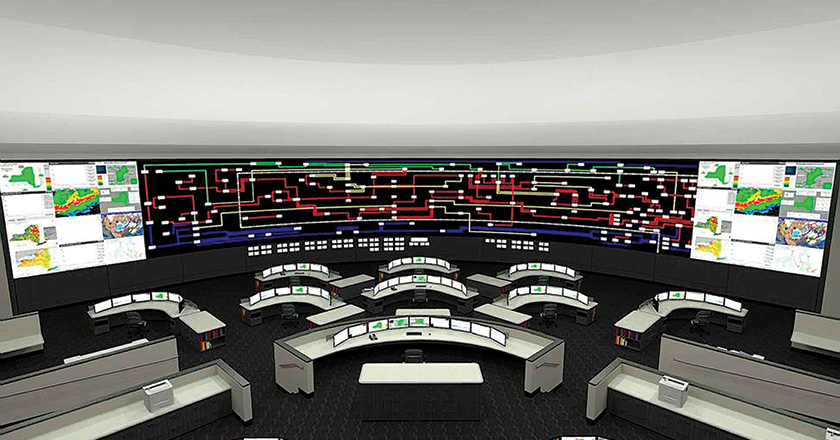 New York NY's new Public Safety Answering Center (PSAC) II houses the most advanced and complex communication systems in the country, providing fast and efficient emergency 911 services. The facility offers more than 300 consoles for police, fire and emergency medical services in one location.