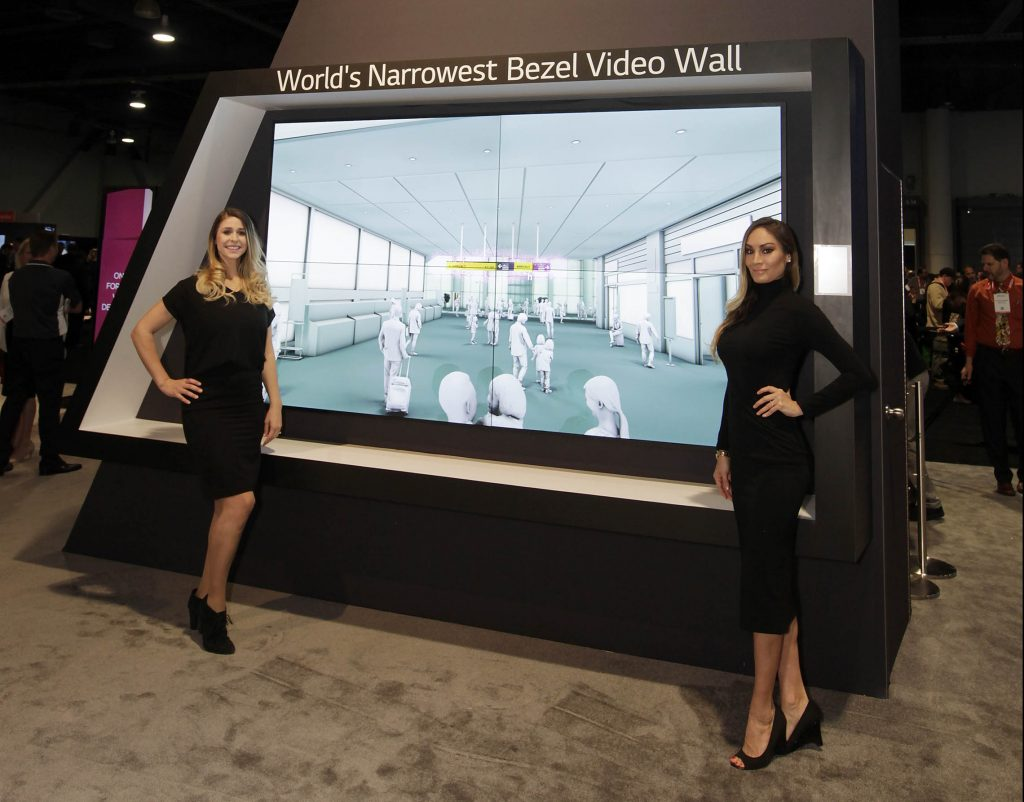 LG has launched its 0.6mm-thin even-bezel videowall display, which enhances a seamless and immersive videowall experience.