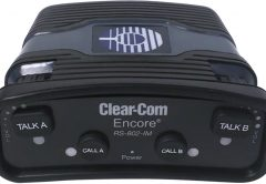 Clear-Com's 800 Series Encore Analog Partyline Beltpacks