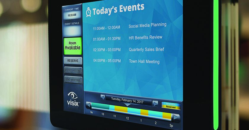 Visix 2nd-Gen Touch10 Interactive Room Sign