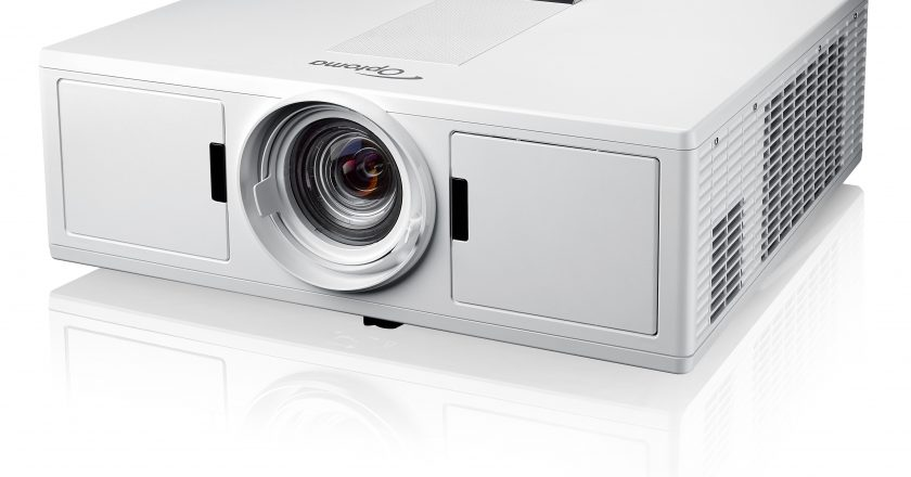 Optoma's ZH500T 1080p Laser Projector