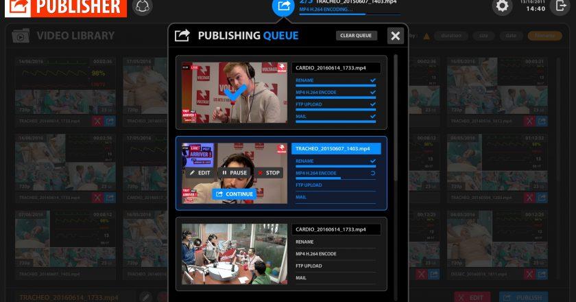 multiCAM Systems' PUBLISHER v2.0 Media Asset Management Module