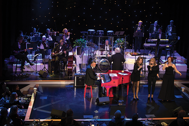 Ray Stevens performs one of his classic hits live onstage during the VIP Grand Opening of CabaRay.