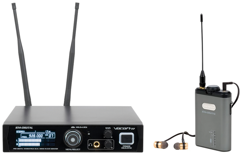 New Professional Digital Stereo/True Dual Mono In-Ear Monitor System