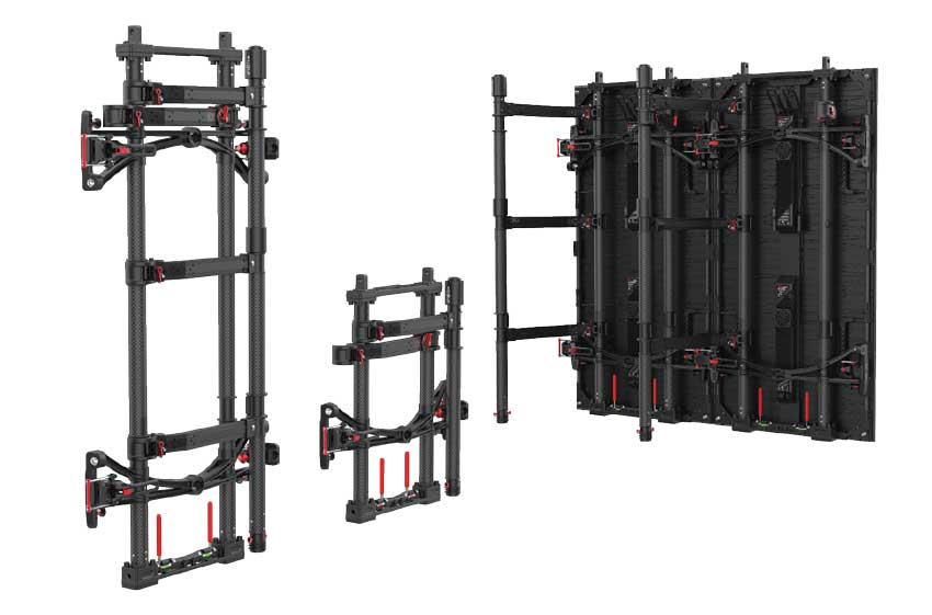 Air Frame Lightweight All-In-One Solution For Hanging, Stacking and Transportation