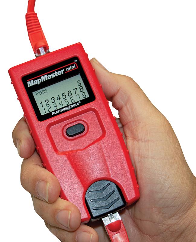 New MapMaster™ Mini RJ45 Pocket Cable Tester
