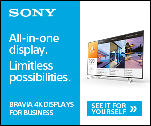 BRAVIA 4K Professional Displays