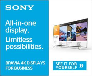 BRAVIA 4K Professional Displays