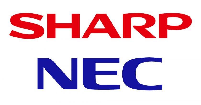 Sharp, NEC