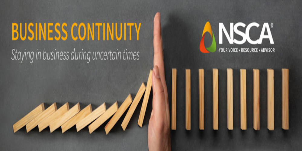 NSCA, Business Continuity