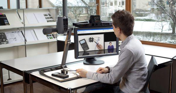 Visual collaboration, videoconferencing