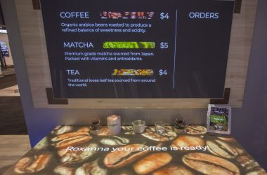 Digital Signage, Coffee Shop