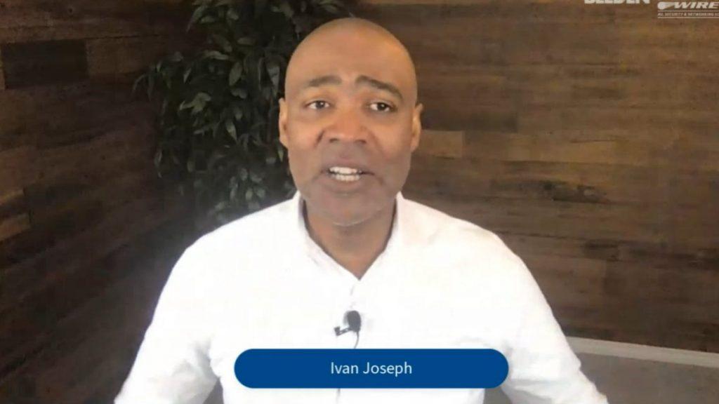 Dr. Ivan Joseph speaks at Business & Leadership Conference, NSCA's BLC