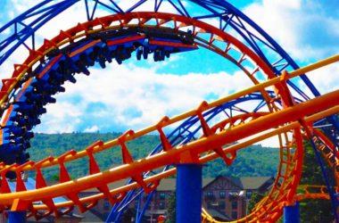 Roller Coaster, Amusement Park, LED Displays in amusement parks
