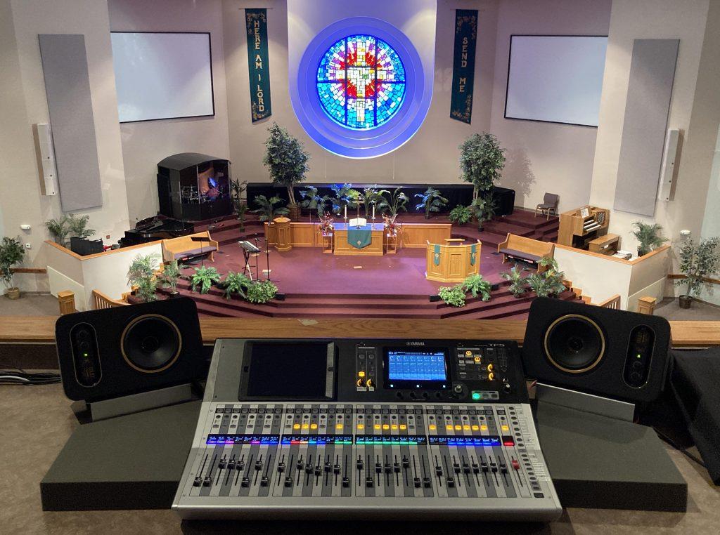 Faith United Methodist Church in Tulsa, Oklahoma, Audio System