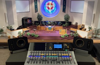 Faith United Methodist Church in Tulsa, Oklahoma, Audio System