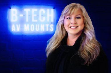Tiffany Dozier, VP of Sales at B-Tech AV Mounts