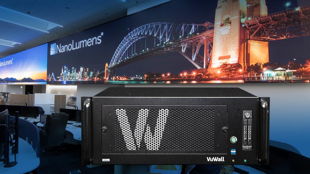 NanoLumens partners with VuWall