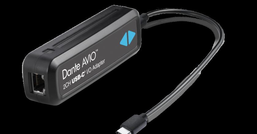 Audinate Dante AVIO USB-C