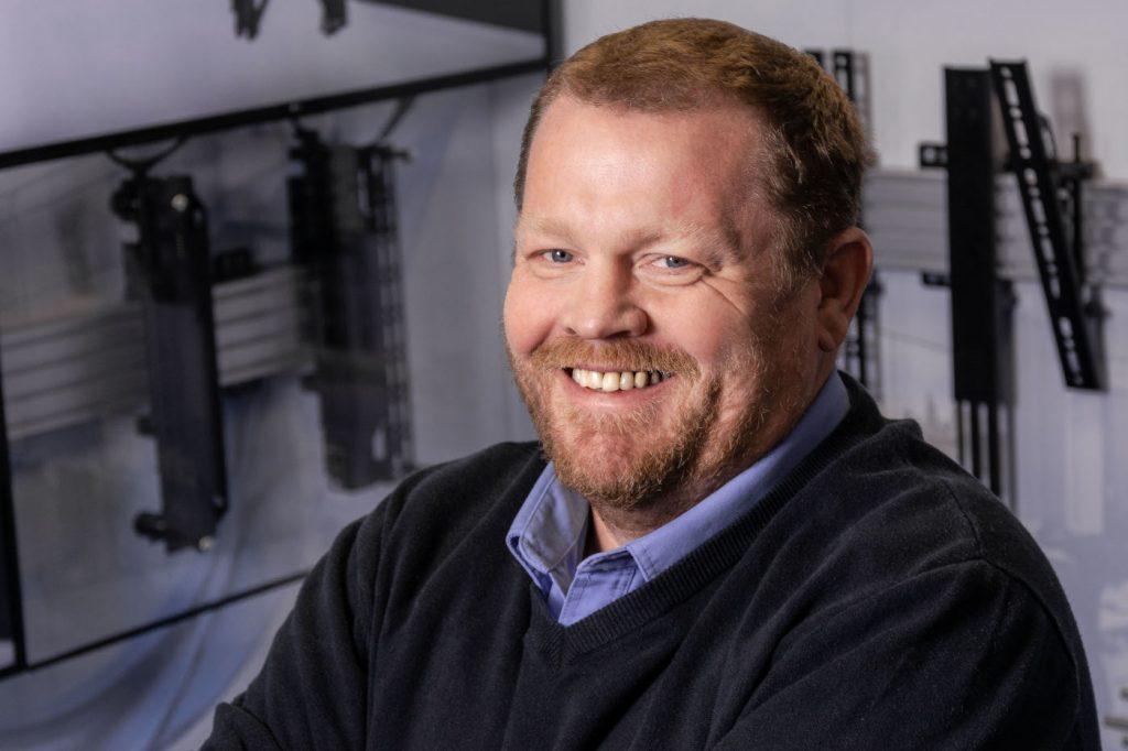 Matt Bennett, CEO of B-Tech AV Mounts.