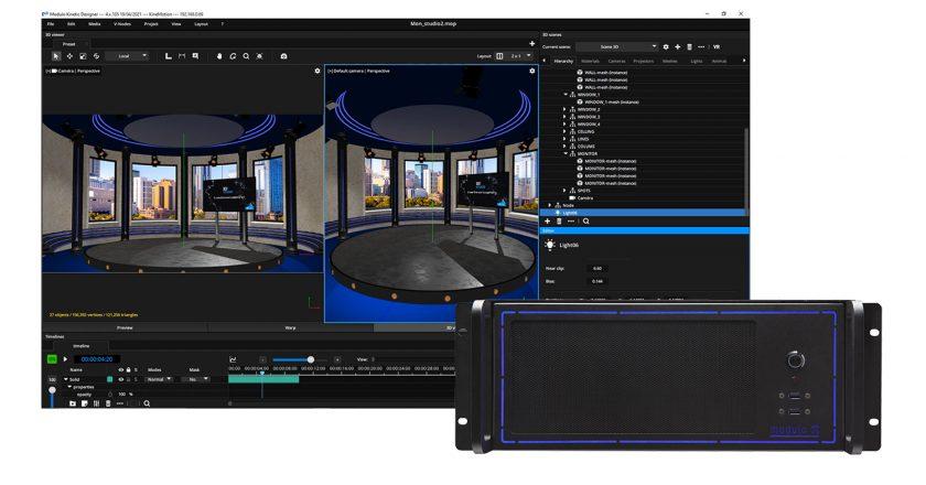 Modulo Pi's Modulo Kinetic Media Server