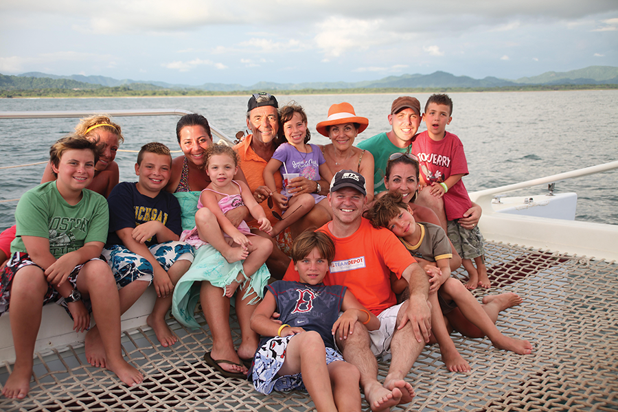 Vinny Testa and Family