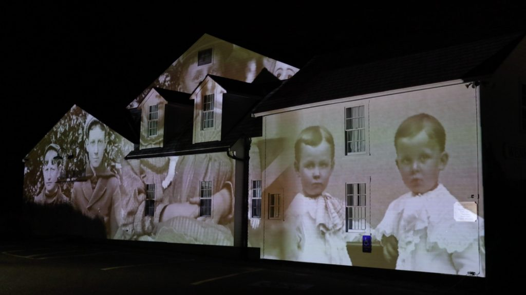 Projection Technology at Wenham Museum