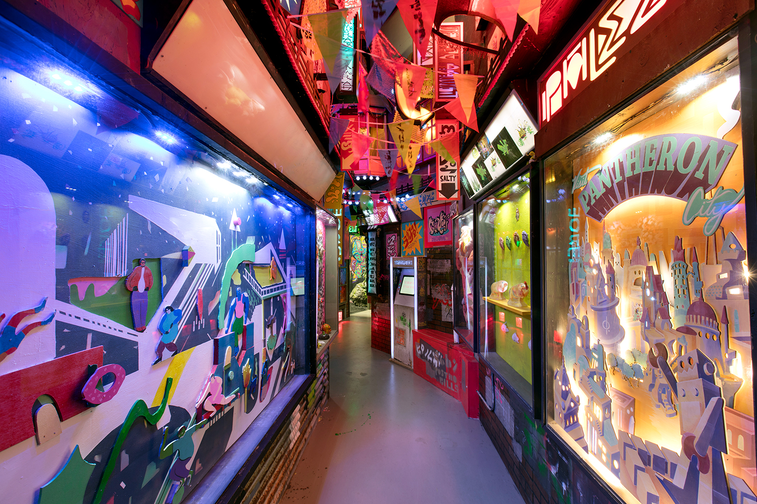 Dave's Alley at Meow Wolf's House of Eternal Return
