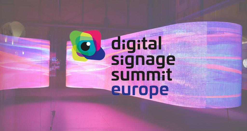 digital signage summit europe logo