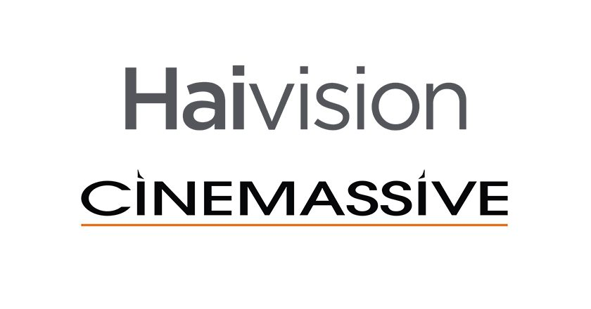 haivision and cinemassive logos