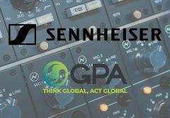 sennheiser and gpa logos