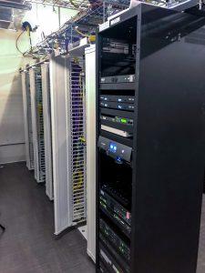 Twitch HQ 2.0 AV racks