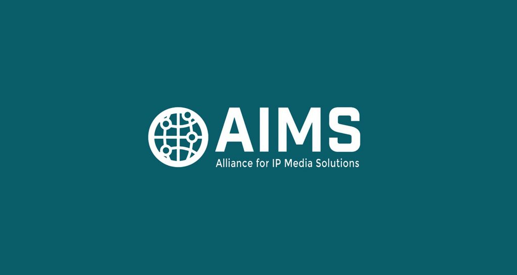 The Alliance for IP Media Solutions (AIMS) logo